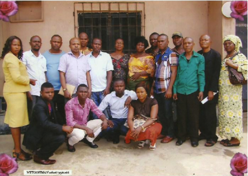 Nigeria waste pickers&#039; meeting