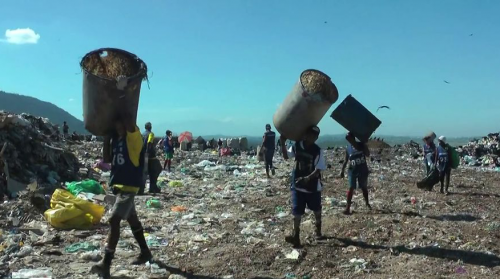 "An image from the documentary ""Catador"" about the closure of the Gericinó dumpsite in Rio de Janeiro."