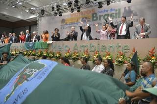 Conferencia Nacional de Meio Ambiente. Foto: MNCR.