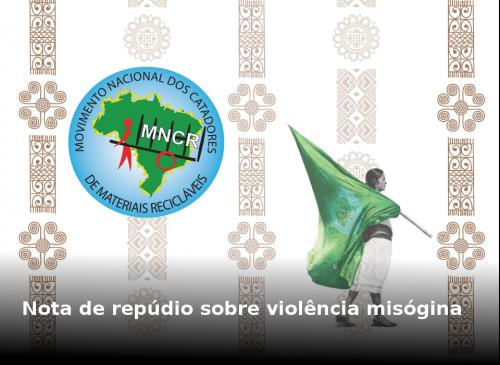 Mensaje de repudio sobre violencia misógina.