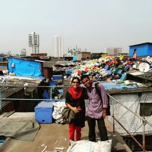 With Mohammed of Dharavi Slum Tours (1)