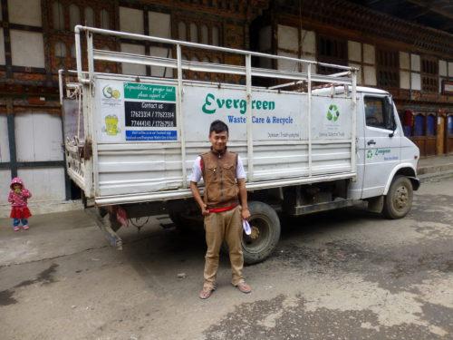 Tshering Dorji of Evergreen