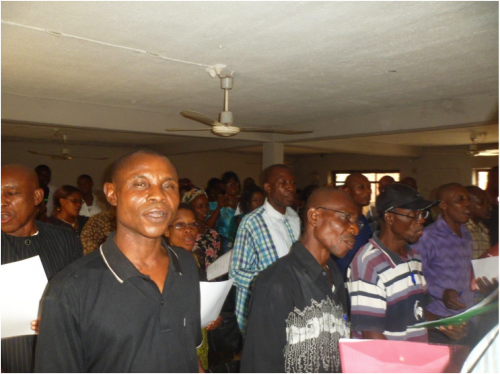 waste pickers workshop - aba, nigeria