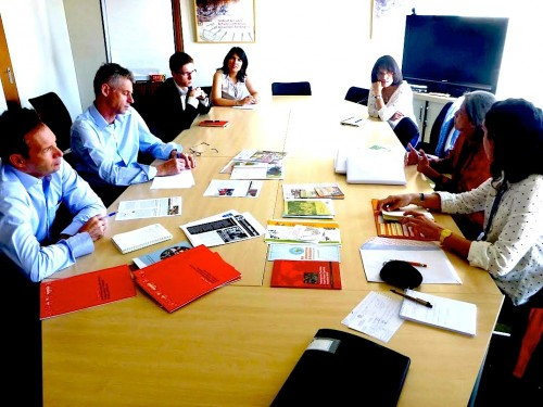 Meeting with the ILO Green Jobs Department members Kees van Der Ree, Vincent Jugault, Andrea, and others. Presenting WIEGO and allies reports.