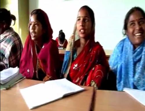 """Imagen del video del proyecto PRISM """"La educación trae esperanza""""."""