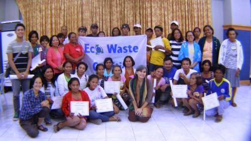 Cebu City workshop. Photo: Eco Waste Coalition.
