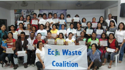 Davao City workshop. Photo: Eco Waste Coalition.