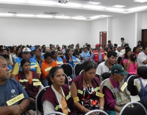 Plénière des récupérateurs boliviens. Photo: Recicladores Bolivia.