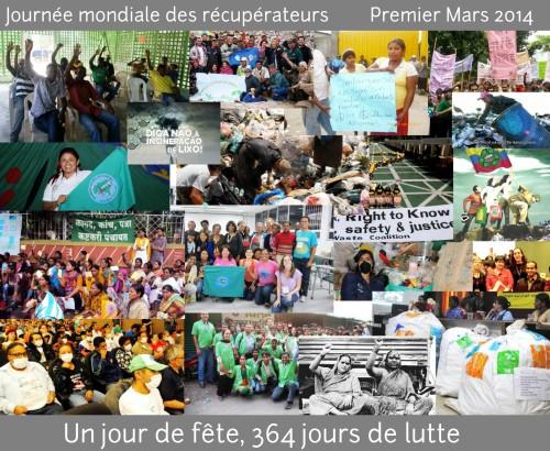 Journée mondiale des récupérateurs 2014