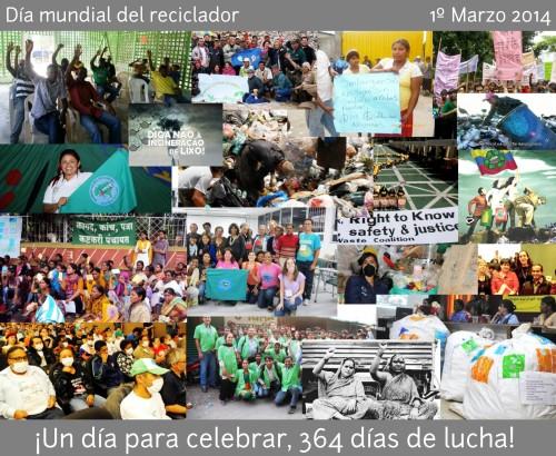 Día mundial del reciclador 2014