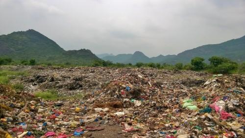 Landfill Site in Guntur
