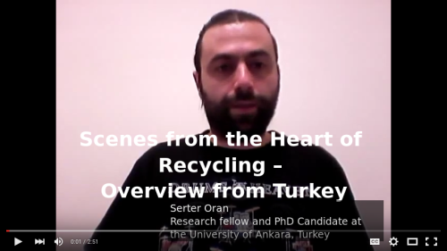 Video: Scenes from the heart of recycling. Overview form Turkey