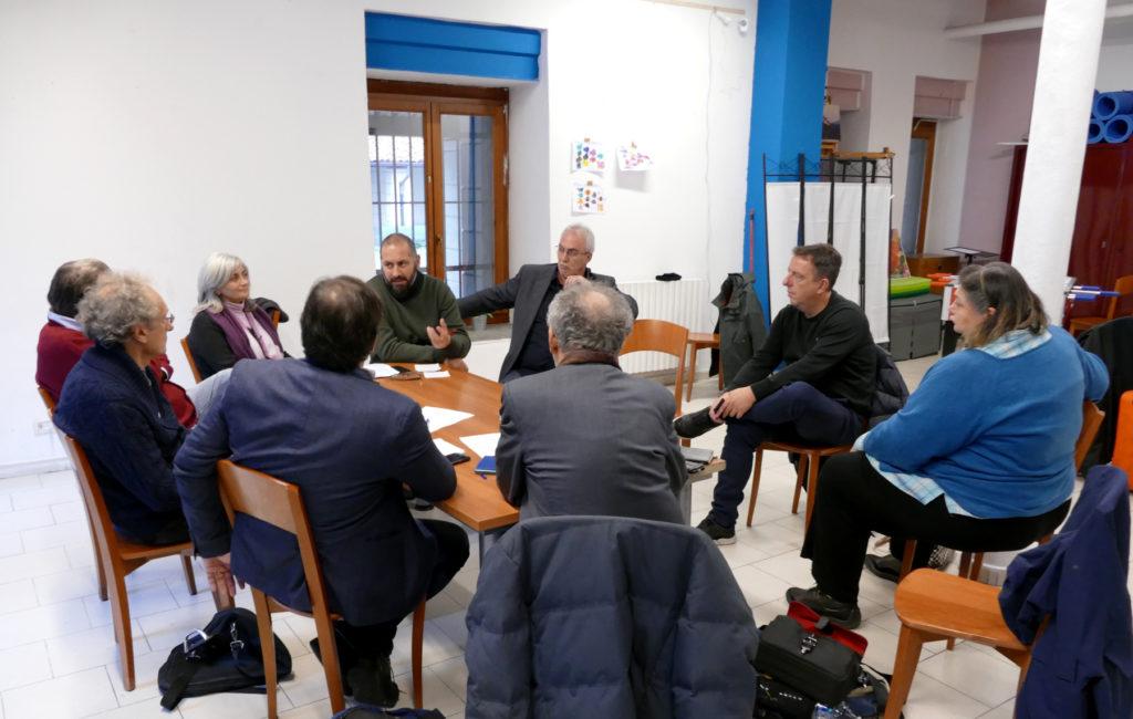 Primeira reunião informal na Europa de catadores e operadores de artigos de segunda mão em Turim.