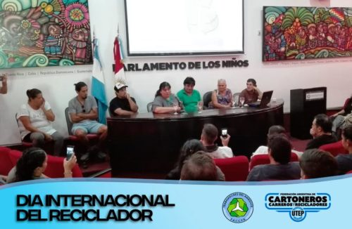 Together Trabajadores del Ambiente (FACCyR Córdoba) with the municipality of Córdoba and the